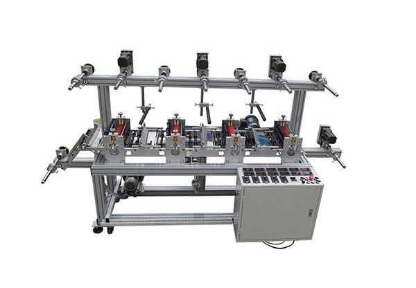 四工位精密磁粉贴合机-2